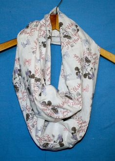 Minnie Make a Wish Infinity Scarf for Gals