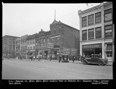 Federal Street (Northside)- A lot of these structures are still there.