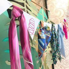 Petite sélection de foulards en soie ! Venez trouver le votre à la Maison  des Canuts dd3ae2f50af
