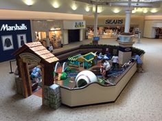 Connect-Bridgeport Kids Zone in Sears Court #meadowbrookmall #funforkids