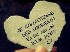 Un Sourire Et... Toute Mon Amitié Pour Vous !
