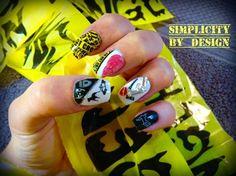 Day 304: Halloween Nail Art - - NAILS Magazine
