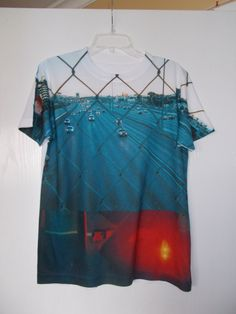all over print t shirt unisex by RuledbyVenus on Etsy, $40.00