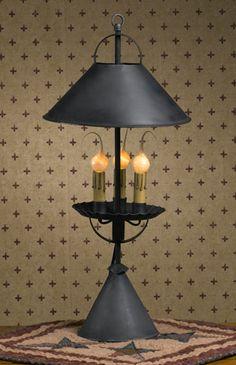 primitive lighting ideas. TABLE QUEEN\u0027S LAMP · Primitive Lighting Ideas