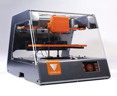 Voxel8's 3-D printer. Printing electronics within the plastic.