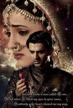 #arshi # Cute Short Love Story, Arnav Singh Raizada, Arnav And Khushi, Jennifer Winget Beyhadh, Wedding Picture Poses, Indian Drama, Soap Opera Stars, Dress Indian Style, Sanaya Irani