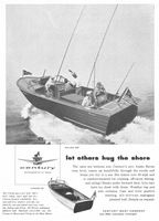 Century Raven 22 Boat 1958 Ad Picture