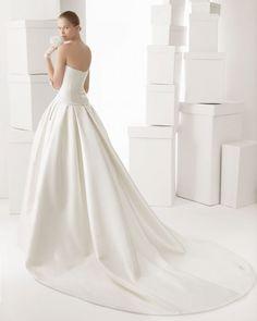 2014 trajes de novia rosaclara | de 30 Modelo Carrusel. Trajes de Novia con bolsillos Rosa Clará 2014 ...