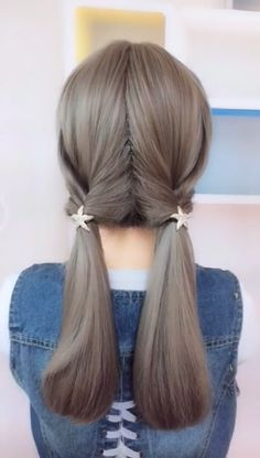 Hair is an important material primarily composed of protein, notably keratin. Hair care is your hair type. Your hair goals. Your favorite hair color Here you find all the possible methods to have perfect hair. Pretty Hairstyles, Girl Hairstyles, Braided Hairstyles, Girl Hair Dos, Hair Upstyles, Toddler Hair, Grunge Hair, Hair Videos, Hair Day