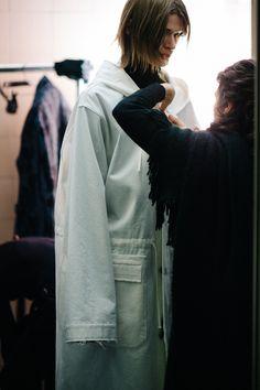 Le 21ème / Backstage at Damir Doma, Fall/Winter 2016/2017 | Milan  // #Fashion, #FashionBlog, #FashionBlogger, #Ootd, #OutfitOfTheDay, #StreetStyle, #Style