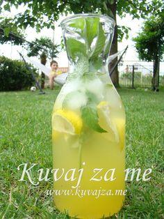 Limun-menta Flower Names, Carafe, Lemonade, Recipies, Drinks, Flowers, Juices, Food, Mint