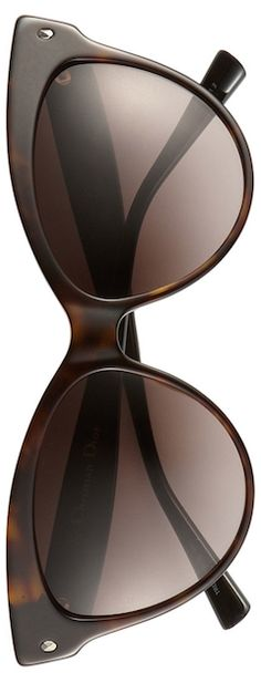 DIOR (Beauty) 'Mohotani' 58mm Cat Eye Sunglasses (Brown Stripe/Brown Gradient)