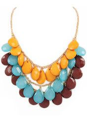 Autumn Bauble Necklace