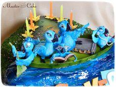 - Rio Cake, 10th Birthday, Birthday Cake, Desserts, Food, 10 Year Anniversary, Tailgate Desserts, Deserts, Birthday Cakes