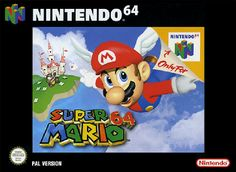 Box art by Yusuke Nakano, 1996, Nintendo. First series box art to use computer generated art. Nintendo 64 Games, Super Nintendo, Super Mario Bros, Nintendo N64, Pablo Escobar, Games Box, Fun Games, Awesome Games, Playstation
