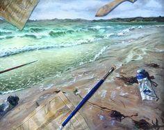 trompe l'oeil painting - Google Search