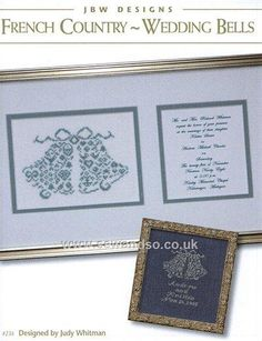 Buy Wedding Bells Chart online at sewandso.co.uk