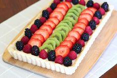gluten free vegan fresh fruit tart | Sarah, Baking Gluten Free