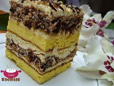 Ciasto luksusowe z masą ajerkoniakową