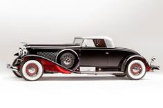 1932 Duesenberg SJ — The ultimate prewar American car: huge, supercharged, powerful and devastatingly beautiful no matter what body was atop it. The Mormon Meteor version topped 135 mph.