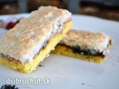 Kokosový koláč Sweet Recipes, French Toast, Sandwiches, Food And Drink, Pie, Cookies, Baking, Breakfast, Alain Delon