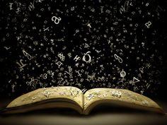 books letters flying off | Flying Letters – a wallpaper via Fanpop. Orientation: horizontal ...