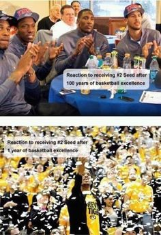 OUCH that hurts! Our reaction, clap, clap yes we know, MU we WON THE CHAMPIONSHIP! LOL