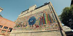 Denholm Building Mural (Worcester, Massachusetts)