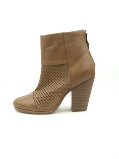 Rag & Bone Classic Newbury, Perforated Ankle Boots from Cicada For Her