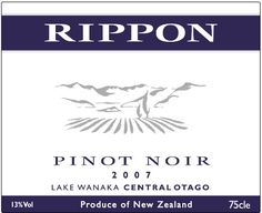 2007 Rippon Pinot Noir Wine, Central Otago-Lake Wanaka, 750ml *** You can find out more details at the link of the image.