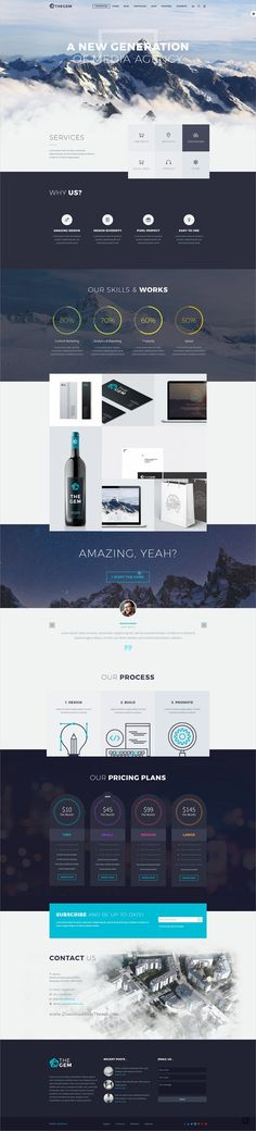 TheGem is creative multipurpose #PSD template for #webdev the huge variety of design & web projects with 50+ awesome homepage layouts & 200+ layered PSD files download now➩ https://themeforest.net/item/thegem-creative-multipurpose-psd-template/19746346?ref=Datasata