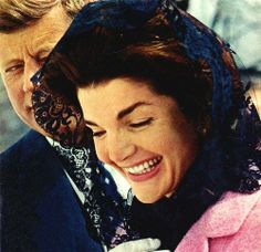 John and Jackie Kennedy so clearly in love.