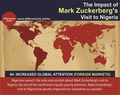 The Impact of Mark Zuckerberg's Visit to Nigeria: A Digital Marketing Perspective - 4). Increased Global Attention