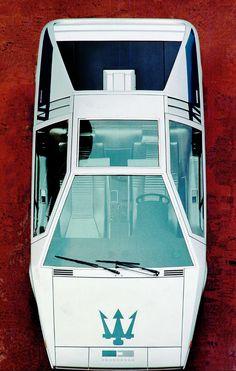 1972 Maserati Boomerang Concept by Giugiaro