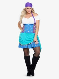 Gypsy Princess Costume Dress