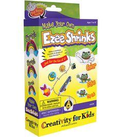 Creativity for Kids Kit-Make Your Own Ezee Shrinks