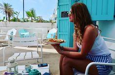 Valencia beach. Lunch at La Mas Bonitas