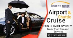 Here To There provide transfer Sydney airport, cruise transfers, corporate events or social events and even if you want a simple nigh-out, we are always ready to serve you 24/7.