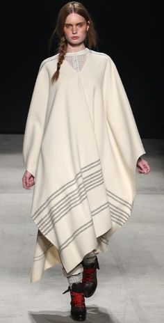 Boy by Band of Outsiders wool blanket cape