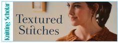 Knitting Scholar - Knitting Book Reviews