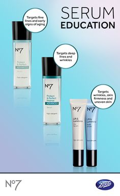 Discover which of our No7 anti-aging serums are right for you.