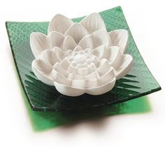 Water Lilly Stone Diffuser by Borbonese Perfume. $30.43. With green glass baseA magnificent lotus flower, great for meditation and to diffuse aroma into any room. Add a few drops of your favorite essential oil to create a soothing and refreshing feeling wherever you are.