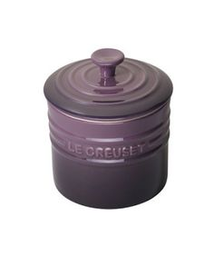 Le Creuset Stoneware Storage Jar. Click through for your chance to win a beautiful 20 piece Le Creuset set from Nebraska Crossing Outlets!