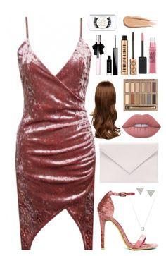 """""""Probably not"""" by tigerlily789 ❤ liked on Polyvore featuring Verali, Links of London, Lizzie Mandler, Lime Crime, Urban Decay, Maybelline, Givenchy and Yves Saint Laurent"""