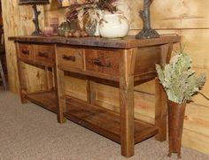 Reclaimed Barn Wood Furniture