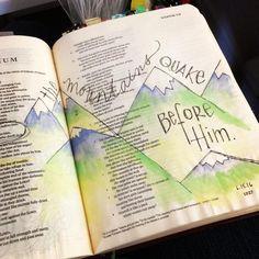 Recent margin work. Bullet Journal, Journal Art, Art Journaling, Ecclesiastes, Illustrated Faith, Old Testament, Bible Art, God, Google Search