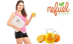 #Refuel Fresh Orange Juice Fasting, or more positively Referred to as Juice Indulging, is more popular today than ever. Most who Start, gladly report a 7 to 9 Pound per week #WeightLoss. Check It, http://refuelbars.ca/