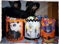 Reciclagem de lata - Halloween https://www.facebook.com/FadaAmetista/photos/pcb.1680659838918149/1680655595585240/?type=3&theater