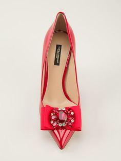 Dolce & Gabbana クリスタル装飾付きパンプス - Parisi - Farfetch.com