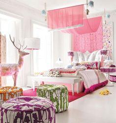 Big girls room on pinterest bedroom ideas girls bedroom and zebra bedrooms - Bebe deco slaapkamer ...